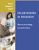 VA Volunteering in Research Brochure