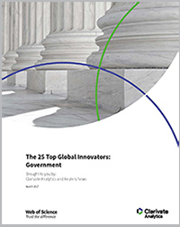 The 25 Top Global Innovators: Government