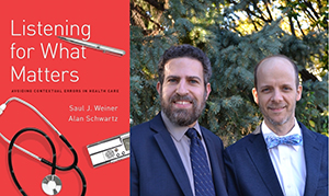VA researcher Dr. Saul Weiner and his colleague Dr. Alan Schwartz were honored with the 2017 PROSE Award for Excellence in Biological and Life Sciences for their book