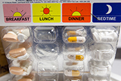 Blister packaging improves medication adherence - Photo by Scott R. Galvin