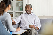 For those with chronic illness, brief cognitive behavioral therapy reduces suicidal thought - Photo for illustrative purposes only. ©iStock/asiseeit