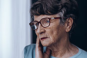 Depression drives nursing home placement in older women - Photo for illustrative purposes only. ©iStock/KatarzynaBialasiewicz