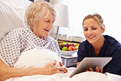 Clock-in-the-Box test helps predict return home after hospital stay - ©iStock/monkeybusinessimages