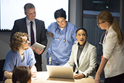 'Safety huddles' ease risks linked to electronic health records  - Photo ©iStock/sturti