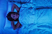 Possible explanation for how melatonin promotes sleep - Photo: ©iStock/jhorrocks