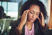 Brain peptide implicated in migraine pain - Photo for illustrative purposes only. ©iStock/laflor