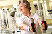 Older women especially susceptible to blood pressure spikes during exercise   - Photo for illustrative purposes only. ©iStock/shironosov