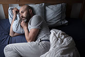Opioids not linked to better sleep for chronic pain patients - Photo for illustrative purposes only. ©iStock fergusowen