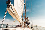 Sailing therapy helpful in substance use disorders - Photo: ©iStock/LeoPatrizi