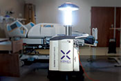 No-touch disinfection effective in preventing some hospital infections, but not others - Photo courtesy of xenex.com
