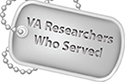 VA researchers who served
