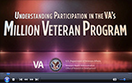 Understanding Participation in the VA's Million Veteran Program