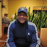 Navy Veteran Pernell Baker is a patient at the Washington, DC, VA Medical Center. VA patients like him took 