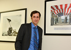 Dr. Eric Elbogen is a forensic psychologist at the Durham VAMC. His recent research has focused on returning Veterans' risk factors for criminal and violent behavior, homelessness, and other reintegration problems.