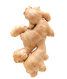 Ginger contains compounds active against oxidation, inflammation, and cancer.