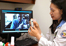 Telehealth inhaler training helps Vets with respiratory disease