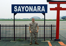 Nick Mezak during a 31st Marine Expeditionary Unit operation in Japan in 2010. (Photo courtesy of Nick Mezak)