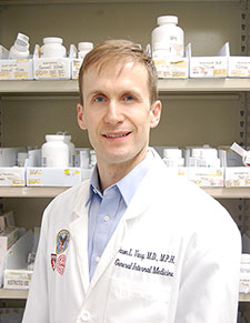 Dr. Jason Vassy is a clinician-researcher at the VA Boston Healthcare System and an assistant professor at Harvard Medical School. (Photo by Pallas Wahl)