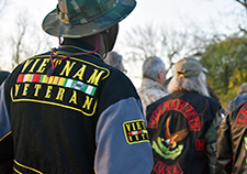 Vietnam Veterans took part in a March 2016 ceremony at the Lexington (Kentucky) VA Medical Center in commemoration of the war's 50<sup>th</sup> anniversary.