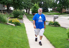 A walk a day may keep the Parkinson's symptoms away