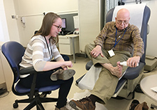 Program aims to help those with diabetes fend off foot ulcers