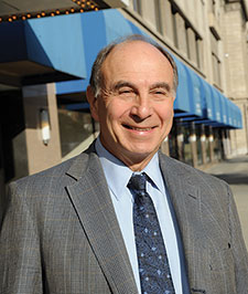 Dr. Murray Raskind is a psychiatrist and researcher at the VA Puget Sound Health Care System and the University of Washington. <em>(Photo by Emerson Sanders)</em>