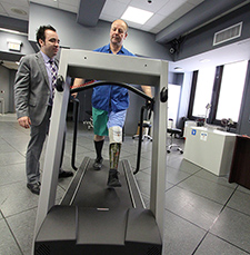 Which bionic limb to prescribe? Gait lab aims to build evidence base