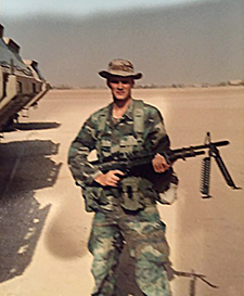 Brian Zimmerman served with the Army in Operation Desert Storm and recently participated in Gulf War studies at the Minneapolis VA Health Care System.