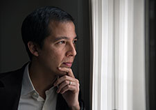 Dr. Alan Teo has conducted several studies on the impact of loneliness and social isolation on mental health, and the role of technology in that dynamic. (Photo by Michael Moody)