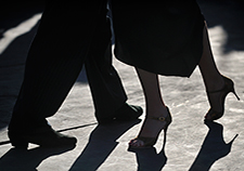 Parkinson's patients do the tango in hopes of improving walking ability, balance