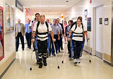 Robotic exoskeleton, now FDA-approved, continues to be studied at Bronx VA