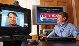 Telemedicine outreach for PTSD