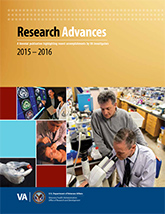 VA Research Advances 2015 - 2016