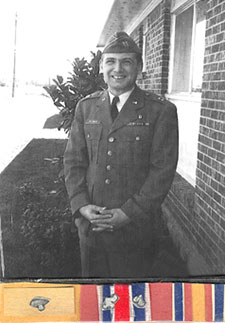 Dr. Sol Solomon during his days as chief of medicine at Dyess Air Force Base in Abilene, Texas, in the late 1960s.