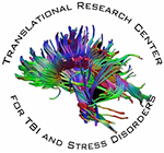 The Translational Research Center for TBI and Stress Disorders (TRACTS) logo