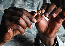 A VA study found that for most former smokers who quit at least 15 years ago, the risk of heart failure and death are the same as those of someone who never smoked.
