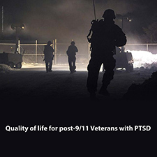 Quality of life for post-9/11Veterans with PTSD