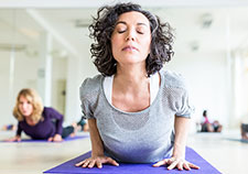 Research suggests that yoga can benefit women Veterans with PTSD who have been sexually assaulted while in the military. <em>(Photo for illustrative purposes only. ©iStock/Alvarez)</em>>
