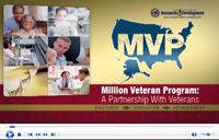 Click to watch the video: Million Veteran Program: A partnership with Veterans