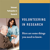 Volunteering In Research brochure
